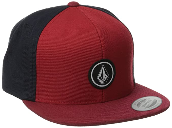 Amazon.com  Volcom Men s Quarter Twill Hat Burgundy  Clothing 1d6641331a39