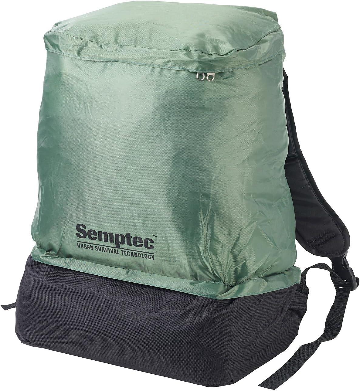 Semptec Ultrakompaktes Rucksack-Tunnelzelt für 1 Person 1.500 mm Wassersäule