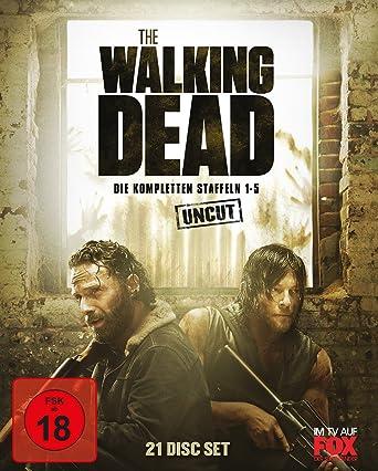 The Walking Dead Staffel   Box Uncut Blu Ray