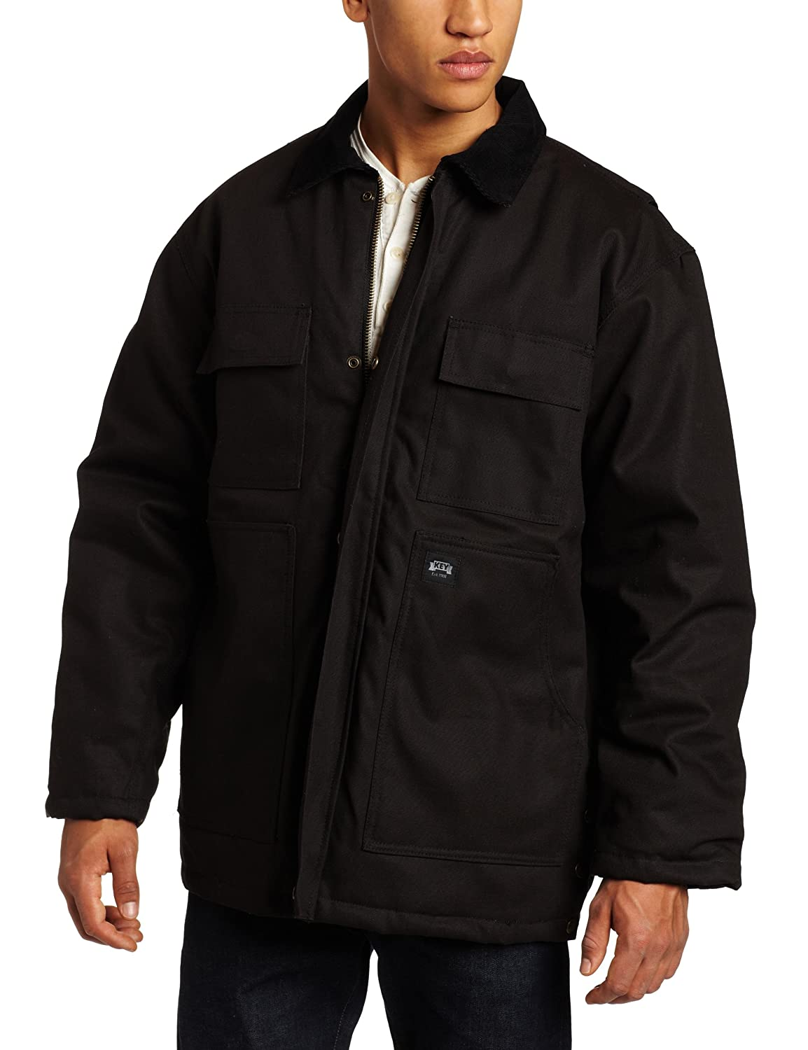 Polar King by Key Apparel Insulated Duck Chore Coat
