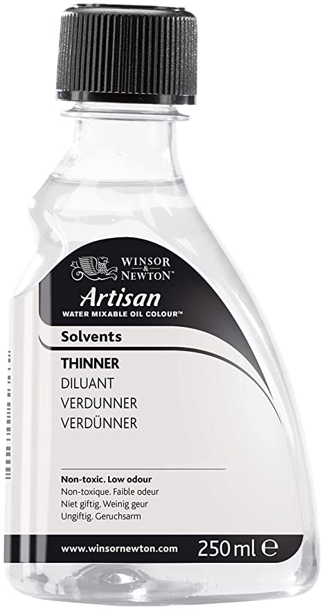 Winsor & Newton Artisan Water Mixable Mediums Thinner, 250ml