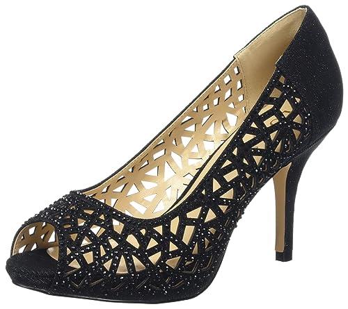 e3b518159eed Lotus Women's Flink Open-Toe Heels: Amazon.co.uk: Shoes & Bags