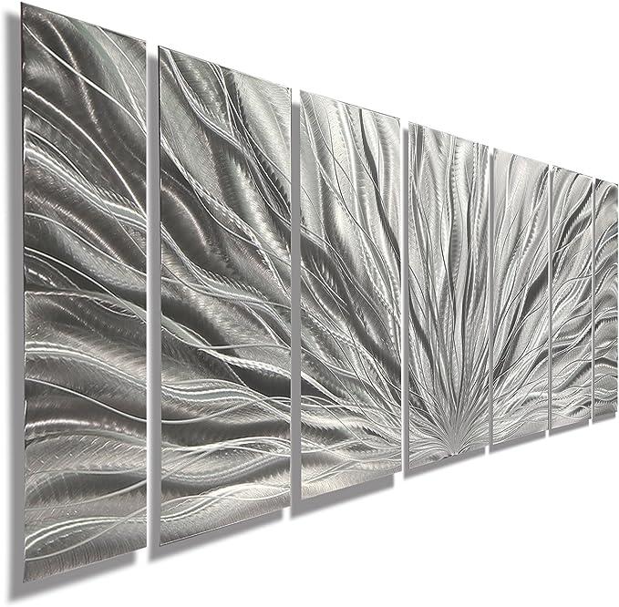 WP/_ILC/_181 I Love - Metal Wall Plate ALICANTE white background design Heart