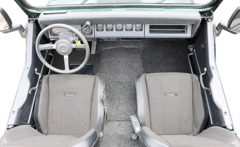 BedRug Custom Fit Rear Liner For 1987-1995 Jeep Wrangler