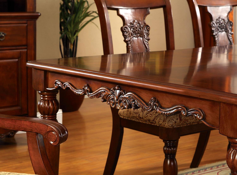 Amazon.com: Muebles de América Voltaire 9-Piece vestir juego ...