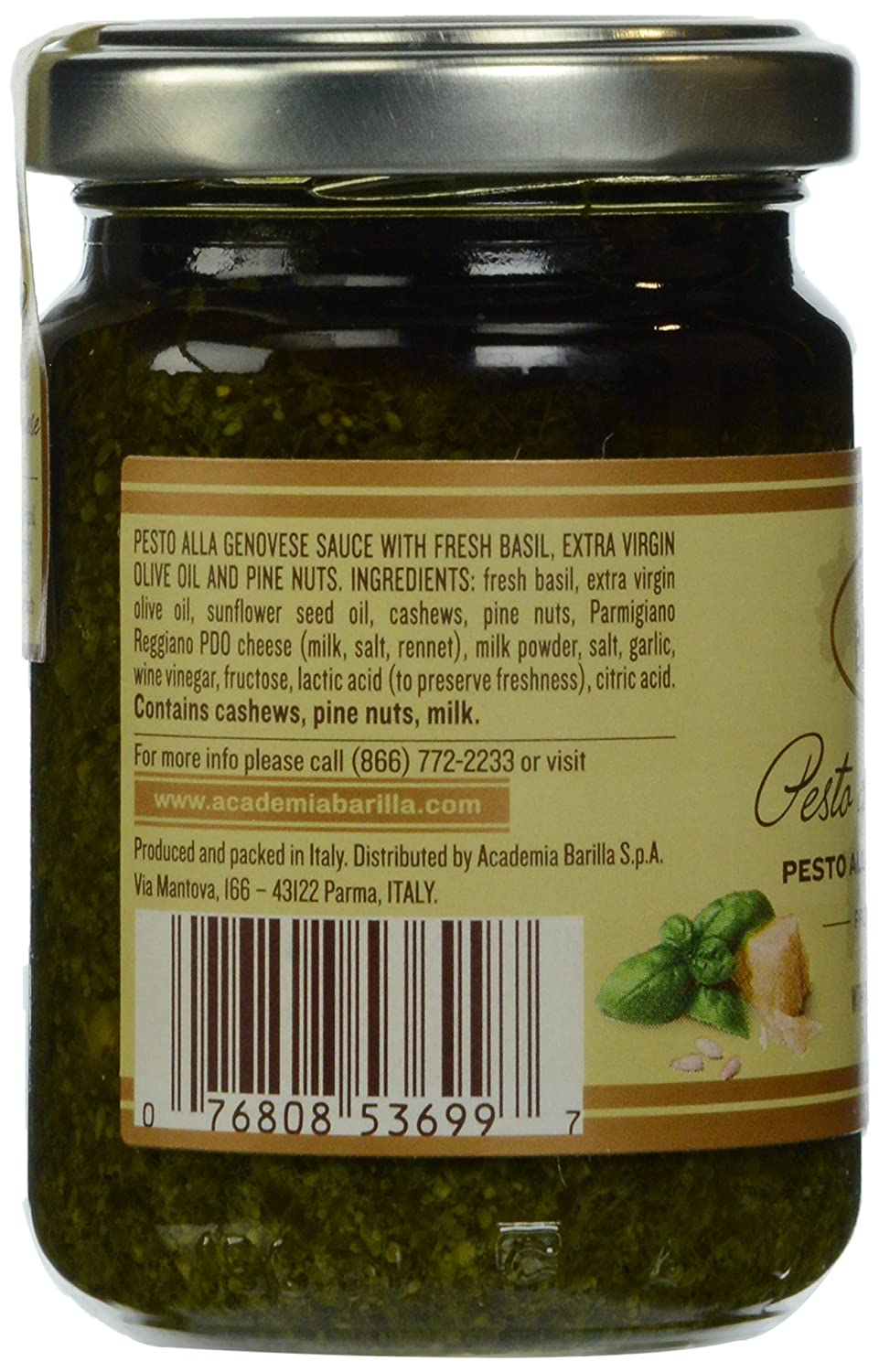 com academia barilla pesto alla genovese oz com academia barilla pesto alla genovese 4 76 oz packaged vegetable bouillons grocery gourmet food