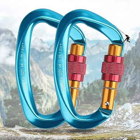 amaca catena della bottiglia portachiavi 2 moschettoni resistenti per alpinismo