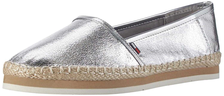 Tommy Hilfiger S1385py 1z, Alpargatas para Mujer, Plateado (Silver 019), 38 EU: Amazon.es: Zapatos y complementos