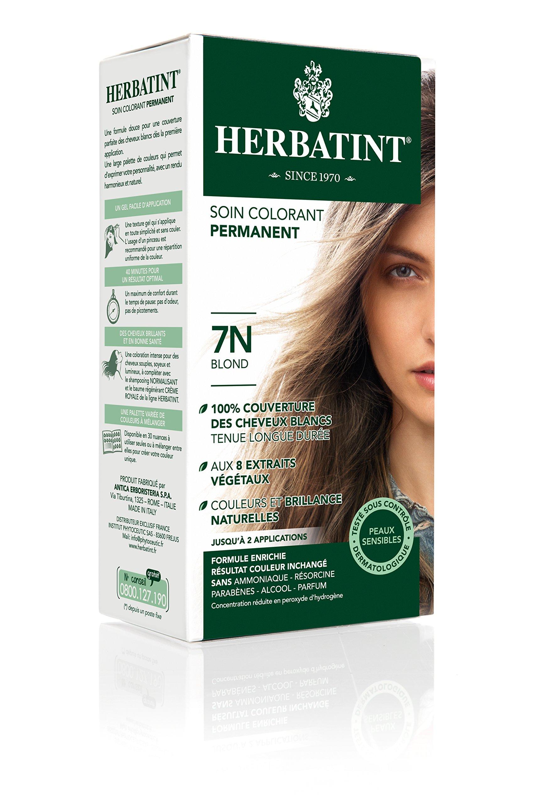 Herbatint Hair Color, 7N Blonde, 4.56 Fluid Ounce