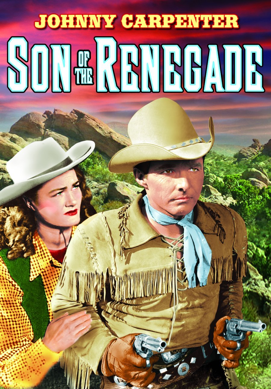 DVD : Son of the Renegade (Black & White)
