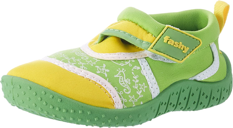 Fashy/® Kleinkinder Outdoor Sport Chaussures de Schwimmschuhe Aqua en n/éopr/ène et Mesh avec Fermeture Velcro et Semelle TPR