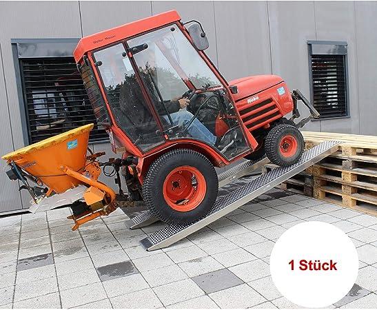 Trutzholm 1 Stück Alu Auffahrrampe 250 Cm 500 Kg Pro Stück 1000 Kg Pro Paar Verlade Rampe Verladerampen Verladerampe Auto