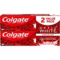 2PK Colgate Optic White Whitening Toothpaste Sparkling Mint