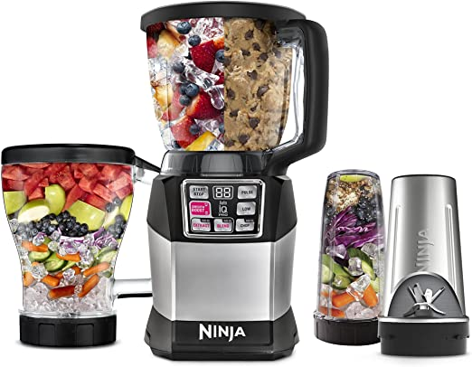 Amazon.com: Nutri Ninja Auto-iQ Compact System (BL491 ...