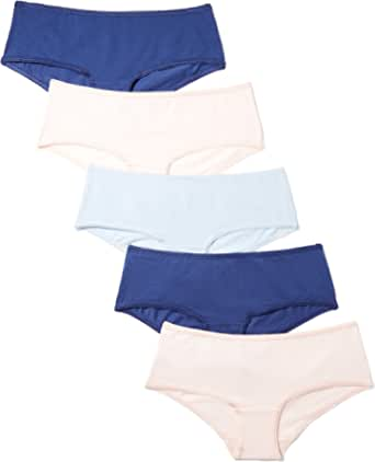 Iris & Lilly Culotte Mujer, Pack de 5