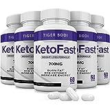 (5 Pack) Keto Fast Diet Pills, Keto Fast 700 mg Burn Capsules - Pure Keto Fast Supplement for Energy - BHB Ultra Boost…