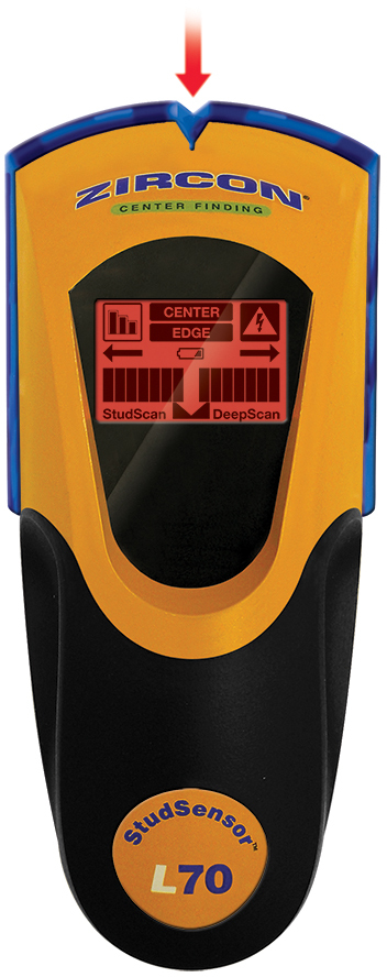 Shop Zircon StudSensor L70 OneStep Stud Finder at Lowes.com