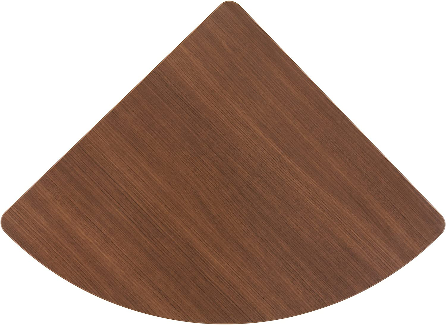 Bush Corner Connector, 26-7 8-Inch by 26-7 8-Inch by 1-Inch, Sienna Walnut Bronze