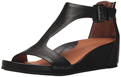 e164530ab116 Gentle Souls by Kenneth Cole Gisele Leather Sandal Black