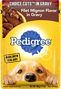 Pedigree Choice Cuts in Gravy Adult Wet Dog Food Variety Packs, 3.5 Oz. Pouches