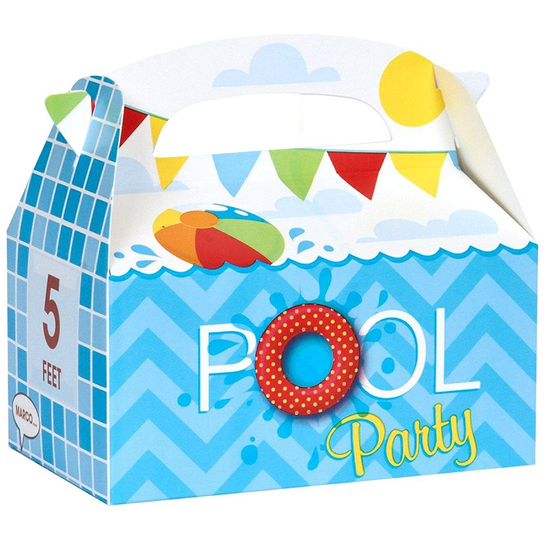 Amazon Birthday Express Kits Splashin Pool Party Empty Favor Boxes Toys Games