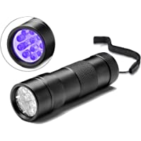 Act 12 LED Linterna Ultravioleta UV para detectar