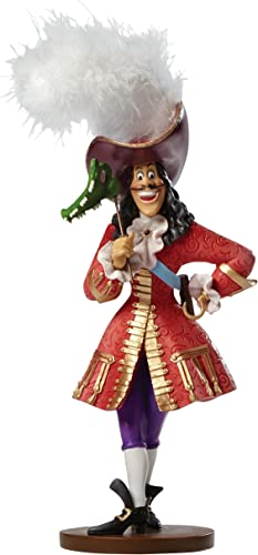 Disney Showcase Couture de Force Captain Hook Masquerade Peter Pan Figurine New