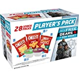 Kellogg's Player's Variety Pack - Gears Cheez-It Crackers and Pringles Chips Salty Snack Pack (28 Count)
