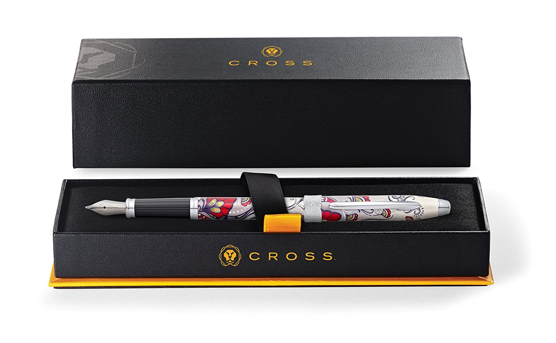 Cross AT0646-3MS Bot/ánica medio Pluma estilogr/áfica Red Hummingbird Vine