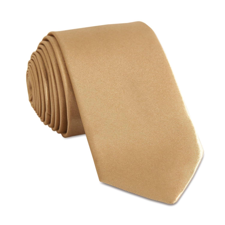 Niki De Naranja® Skinny corbata 5 cm corbata Corbatas en ...