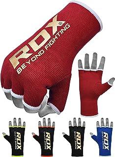 MEHRWEG RDX Innenhandschuhe Damen Elastisch Boxen Boxbandagen MMA Handschuhe Daumenschlaufe Frauen