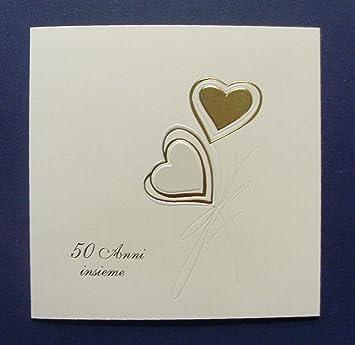 Einladungen Goldene Hochzeit 50 Jahre Made In Italy Cod E