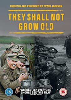 Book Cover: They Shall Not Grow Old 2018
