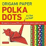 Origami Paper Polka Dots: It's Fun to Fold!