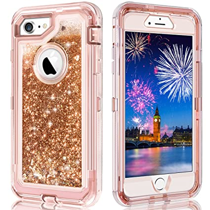 coque 360 iphone 8 paillette