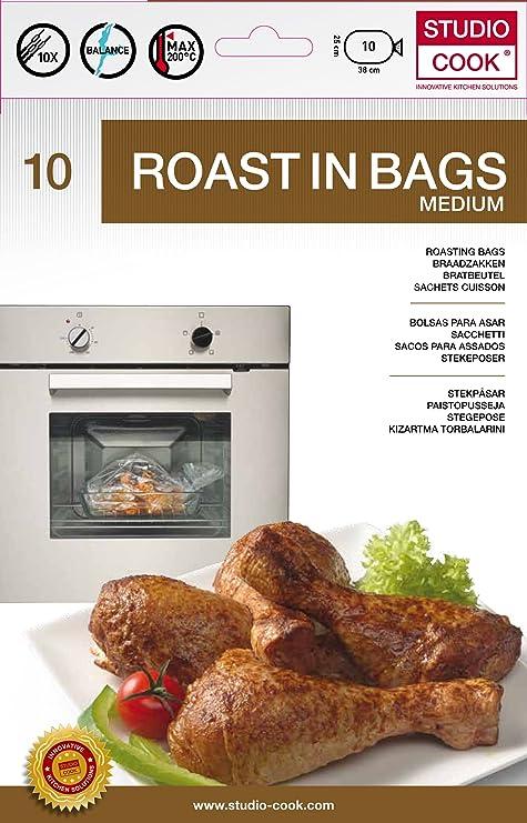 Studio Cook rbcw04 - Juego de 4 Bolsas de cocción Pet ...