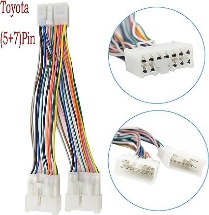 Amazon.com: Yomikoo Car Radio CD Changer Port Y Harness Cable Fit for  Toyota (5+7) Connector Camry RAV4 Yaris Corolla Highlander: Home Audio &  TheaterAmazon.com