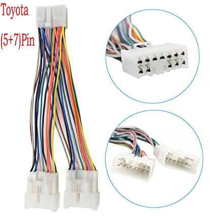 amazon com yomikoo car radio cd changer port y harness cable fit Horse Trailer Wiring Color Code image unavailable