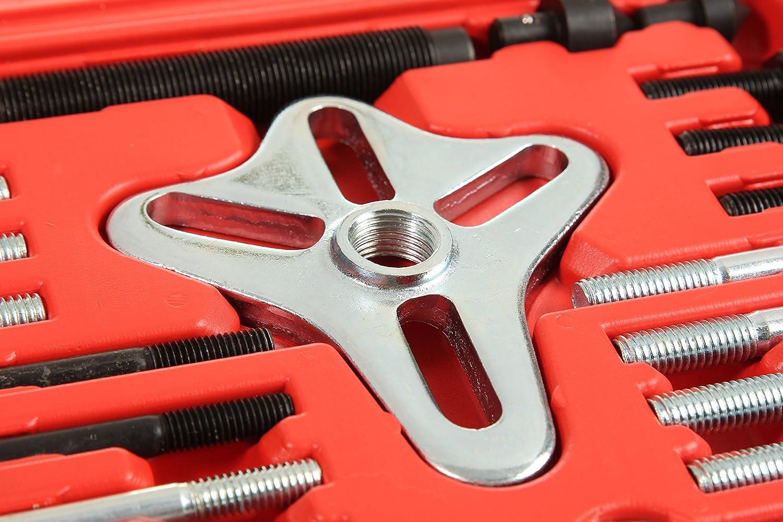 Shankly Flywheel Puller Steering Wheel Puller Complete Crankshaft Pulley Puller 46 Piece