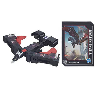 Transformers Generations Titans Return Legends Class Laserbeak: Toys & Games
