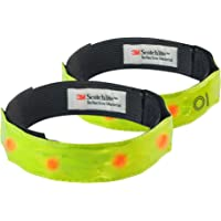 Time To Run High Visibility Armband With LED Pack Of Two