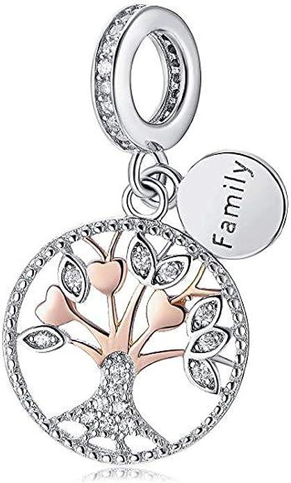 Belinia Prestige 925//1000 Sterling Pendentif arbre de Vie