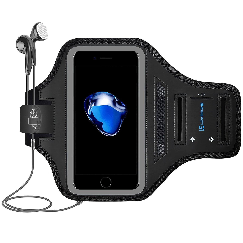 Amazon.com: iPhone 7 Armband/iPhone 8 Armband- LOVPHONE Sport ...