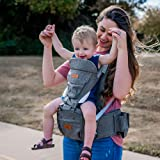 honeyroo Baby Carrier, Joey Classic, Ergonomic 3D Hip Seat, Light Weight and Breathable - Approved by U.S. Safety Standards,