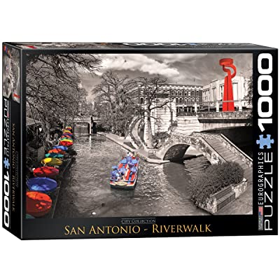 EuroGraphics San Antonio River Walk Puzzle (1000-Piece): Toys & Games