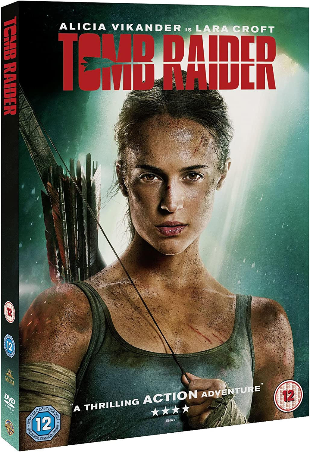 Tomb Raider Dvd 2018 Amazon Co Uk Alicia Vikander