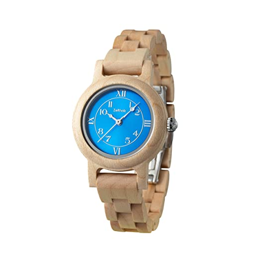 Reloj de Madera ZEITHOLZ – Schönheide - 100% de Madera de Arce- Producto Natural