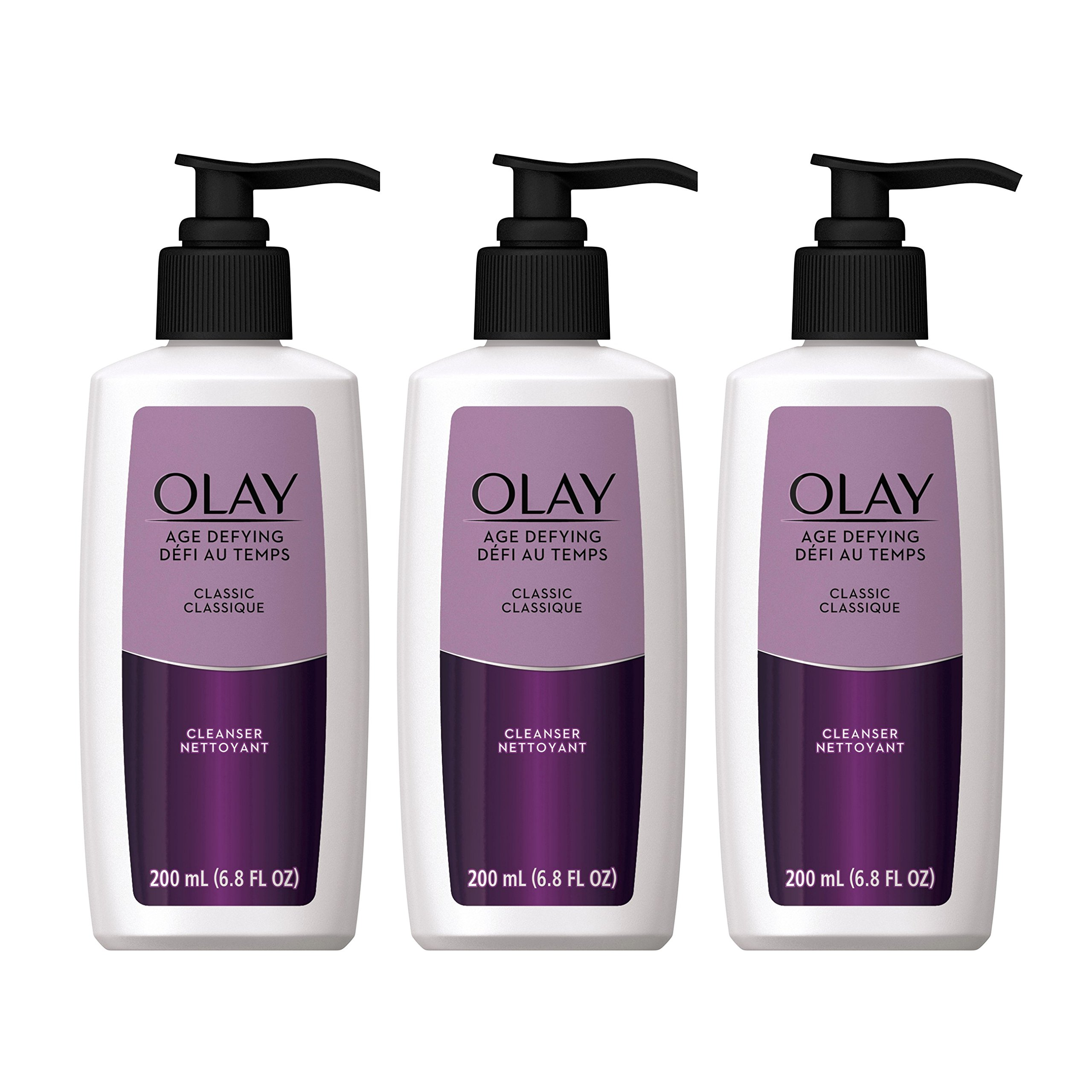 Olay Age Defying Classic Facial Cleanser 6.8 Fl Oz (Pack of 3)