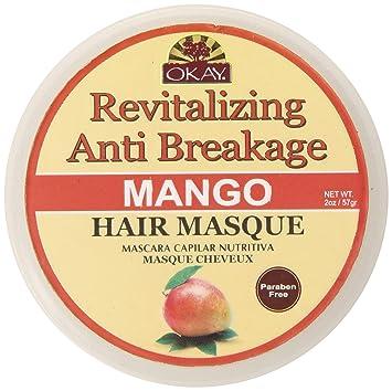 Okay Mango Revitalizing Anti Breakage Hair Masque, 2 Ounce