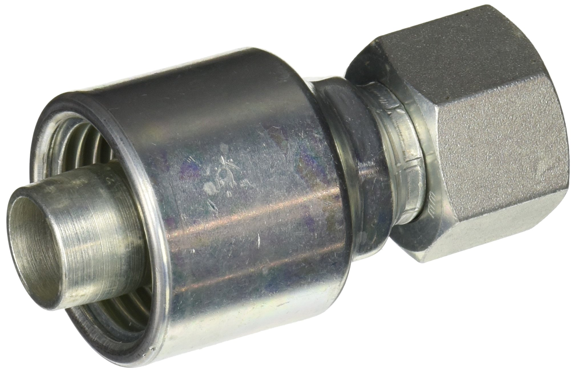 Gates G25170-1616 Female JIC 37 Flare Swivel (MegaCrimp)